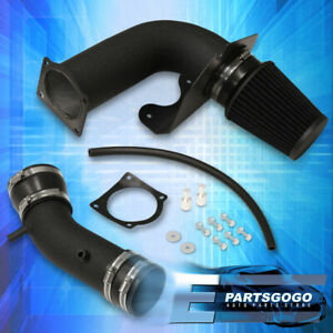 Fits 99 04 Ford Mustang 3 8l V6 Black Cold Air Intake System W Red Filter M T