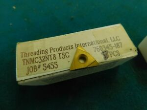 8 Threading Products International Tnmc32nt8 Carbide Threading Inserts