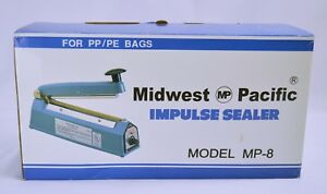Midwest Pacific Impulse Sealer Mp 8 For Pp pe Bags Free Shipping