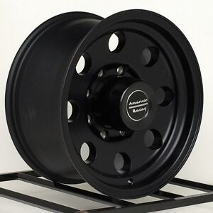 17 Inch Black Wheels Rims Chevy Silverado Hd Gmc 2500 3500 Dodge Ram Truck 8 Lug
