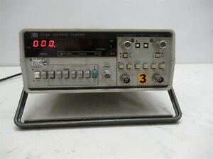 Hewlett Packard Hp 5315a Universal Counter Portable Frequency Counter Timer