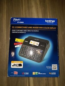 Brother P touch Ptd600 Pc Connectible Label Maker With Color Display