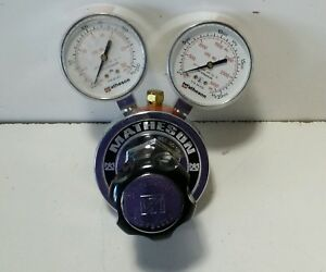 Used Matheson Regulator Gauge 8l 590 30 3000 Psi