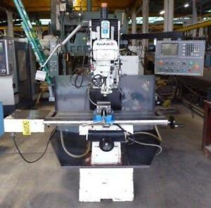 Dynapath Cnc Vertical Bed Mill Delta 500 3 3 axix 10 X 50 3 Hp 30224