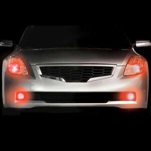 Plasmaglow 10651 Headlight Red Led Hideaway Strobe Light Kit