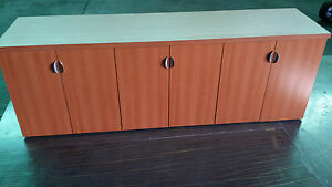 Conference Table 8 Ft W 3 Cabinets