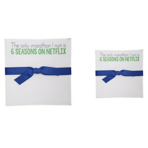 Rosanne Beck Collections Set Of Two Luxe Notepads Netflix Marathon