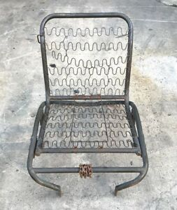 Military Surplus M151 Am General Mutt Left Right Front Seat Frame