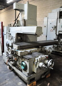 Cincinnati Model 430 18 Vercipower Horizontal Milling Machine With Vertical Head