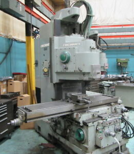 Cincinnati Model 330 18 Vercipower Vertical Milling Machine Rebuilt In 2000