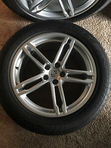 Porsche Macan 19 Turbo Wheels Rims And Tires Oem 2015 2018