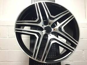 20 Amg Style Black Machine Wheels Rims Fits Mercedes Benz Gl450 Gl550 Gl350