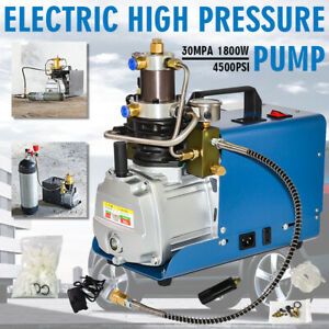 30mpa Pcp Electric Air Compressor Pump 110v High Pressure System Rifle Yong Heng