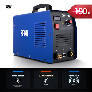 Digital Cutting Machine Inverter New Plasma Cutter 50amp Cut50 Portable Welder