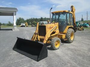 John Deere 310c Farm Tractor Loader Backhoe