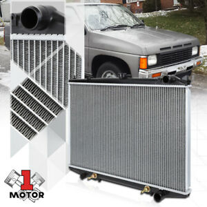 Aluminum Core Radiator Oe Replacement For 86 97 Nissan D21 Pickup Pathfinder At