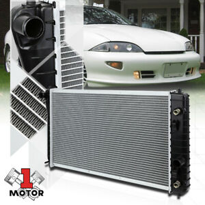 Aluminum Core Radiator Oe Replacement For 95 02 Chevy Cavalier Sunfire At 1687