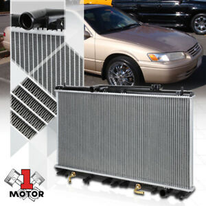 Aluminum Core Radiator Oe Replacement For 97 01 Toyota Camry solara 2 2 At 1909