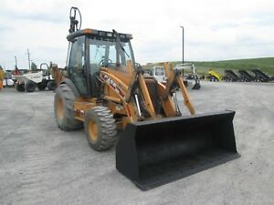 Case 590 Super M Farm Tractor Loader Backhoe