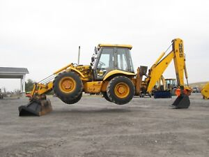 Jcb 215s Farm Tractor Loader Backhoe