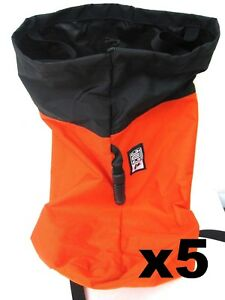X5 Cmc Rescue Rope Throw Bag Nylon Carry Bag Orange Rescue Equipment 430301 01
