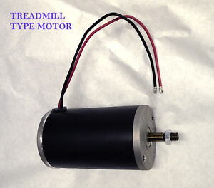 Treadmill 1 Hp 12 Volt Electric Dc Permanent Magnet Motor Generator 12mm