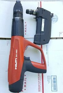 Hilti Dx460 And Mx 72 Powder Actuated Nail Gun X 460 f8 Fastener Guide