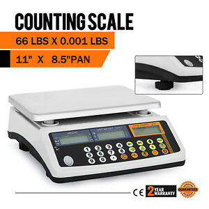 Digital Scale Retail Food Weight Count 66 Lbs Post Office Supermarket Logistics