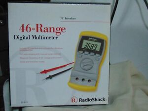 Radioshack 22 812 46 range Multimeter Tool Digital Brand New Not Opened