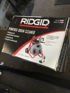 Ridgid 115 volt K 400 t2 Drain Cleaning Drum Machine 52363