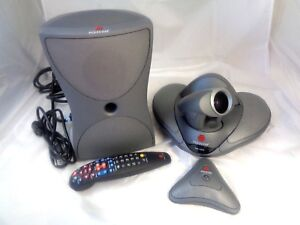 Polycom Vsx 7000 Video Conferencing System With Remote Great Condition