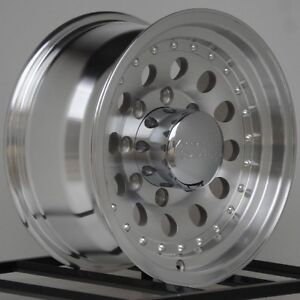 16 Inch Wheel Rims Chevy Dodge Truck American Racing Outlaw Ii 8 Lug 8x6 5 Ar62