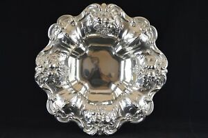 Reed Barton Francis I Sterling Silver Large Footed Bowl X569f