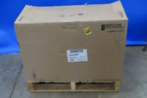 Xylem Goulds Water Technology 20hp Stainless Centrifugal Pump Water Pump
