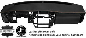 Beige Stitching Dash Dashboard Real Leather Cover Fits Nissan Patrol Y61