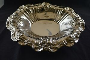 Reed Barton Francis I Sterling Silver Large Oval Vegetable Bowl Footed X566f