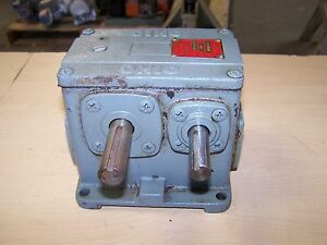 Ohio Gear D1 900b Parallel Shaft Speed Reducer Gearbox 900 1 Ratio