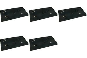 5 Black Velvet Earring Display Tray Inserts 14 1 8 X 7 5 8