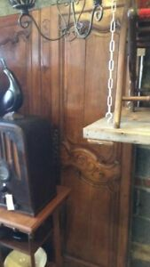 Beautiful Antique Wood Carved Doors 72 Inches Tall 52 Inches Wide