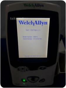 Welch Allyn 45mto Spot Vital Signs Lxi Patient Monitor 209162