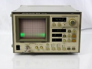 Anritsu Ms610b Spectrum Analyzer 10 Khz To 2 Ghz