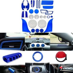 Interior Accessories Decoration Dash Extension Parts Trim Cover For Ford Mustang