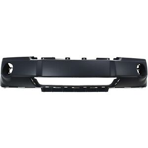 Bumper Cover For 2005 2007 Jeep Grand Cherokee Front Plastic With Chrome Insert