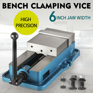 6 Accu Lock Precision Vise W Lock Vice Milling Drilling Machine Clamp New
