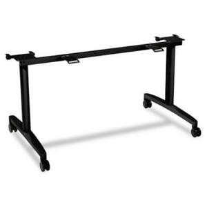 Hon Huddle Multipurpose Table Flip top Base 2 Legs 28 Height mflip30cp