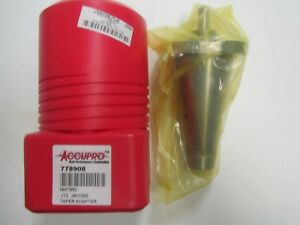 Nmtb50 Jt2 Jacobs Taper Adapter 1 34 Projection New