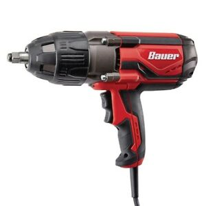 Bauer 1 2 In Heavy Duty Extreme Torque Impact Wrench Corded 1050 Ft Lb 2600 Rpm