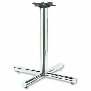 Hon Xsp 26 Hospitality Table Base 26 Height Steel Chrome xsp26chr_40