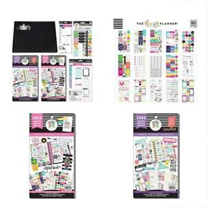Happy Planner Journal College Student Theme Accessory Kit 2 Value Pack Stickers