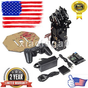 Assembled Uhand Bionic Robot Hand Palm Mechanical Arm With 6ch Control System Us
